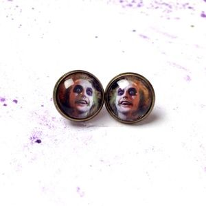 Beetlejuice Earrings - Halloween